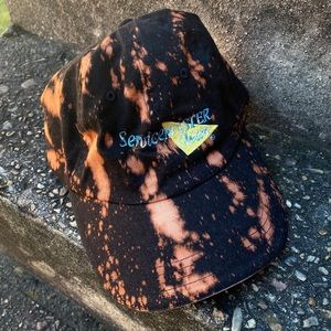 Vintage Hand Dyed Servicemaster Pro Velcro Hat